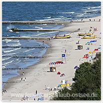 strand urlaub ostsee