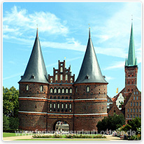 holstentor, luebeck